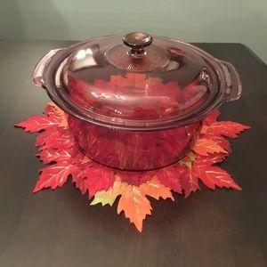 Round Corningware Dish 5L